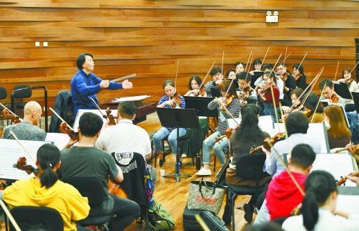"""19个著名城市交响乐团齐聚""""长沙峰会"""""""