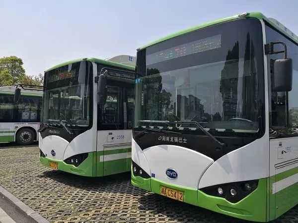 长沙社区巴士17号线正式开通