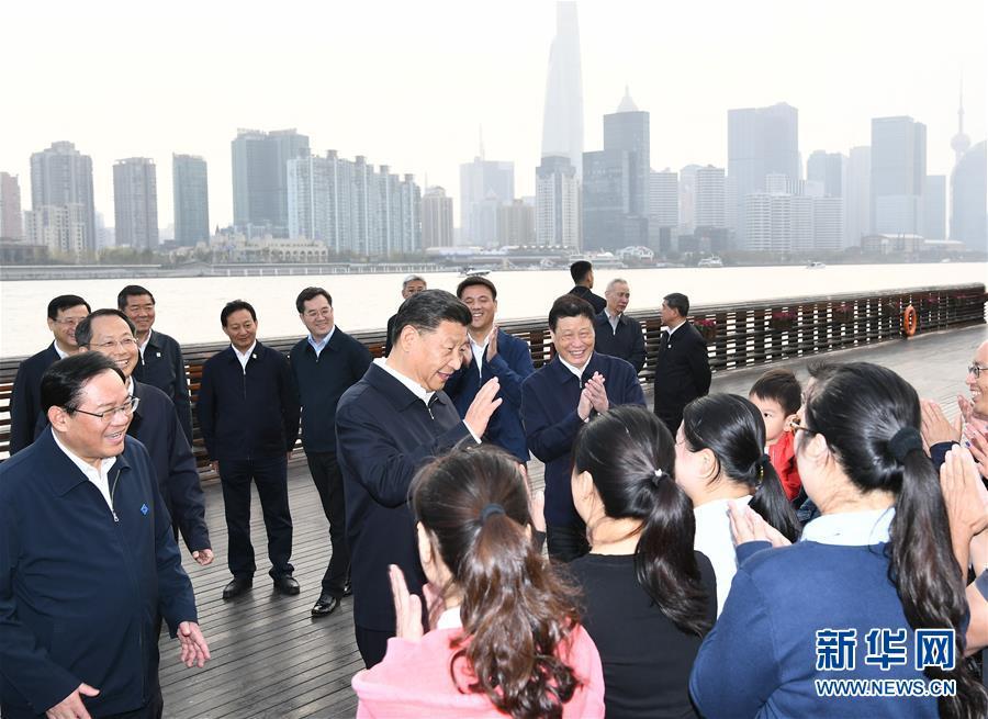 (XHDW)(1)习近平在上海考察调研