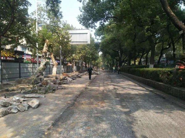 长沙黄兴南路有机更新 三个月后