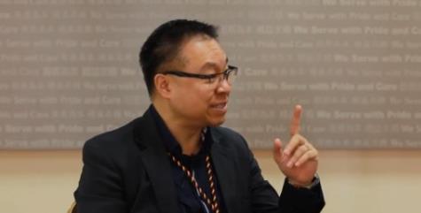 [湘视频·目击香港]谈判专家林景昇:温柔坚定勿动干戈