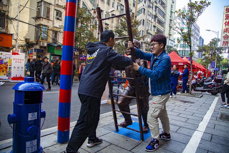 湖南首条消防宣传主题街在衡阳建成开放