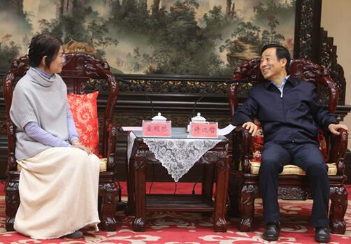 湖南省政府与珠海格力电器股份有限公司举行会谈 许达哲出席