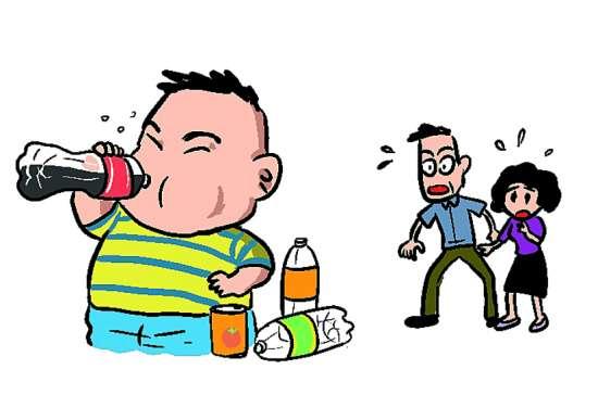 碳酸饮料当水喝 12岁孩子患上糖尿病