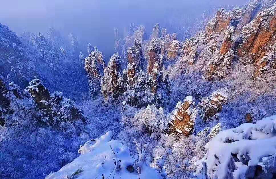 冬游张家界:十大活动嗨不停,六类优惠全球邀客