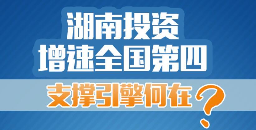 【图解】湖南投资增速全国第四,支撑引擎何在?