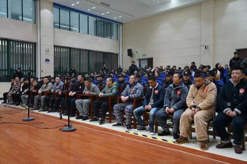 张强虎等17人涉黑案一审宣判,首犯十一罪并罚获刑24年
