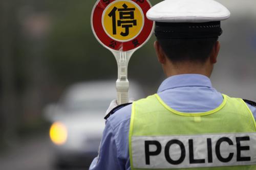 """喝""""跨年酒""""后开车并违停,长沙交警开出新年酒驾首张罚单"""
