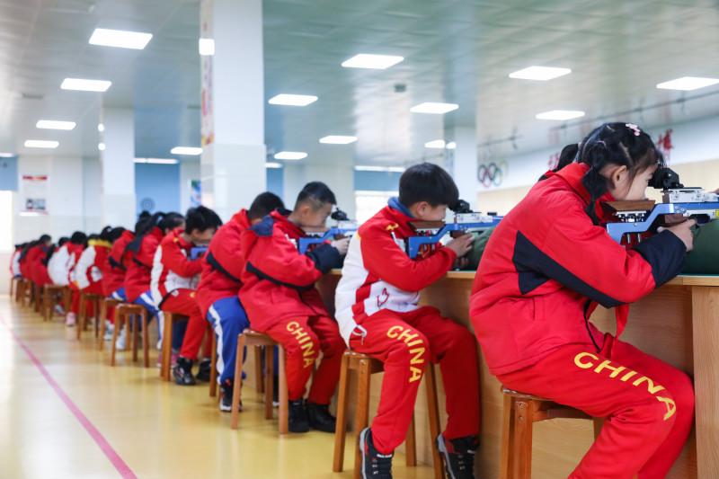 湖南首家冬季射击冬令营开营