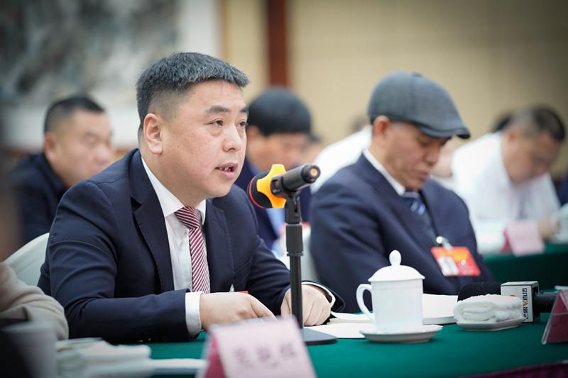 代表建议|刘波代表:提质安化黑茶发展建国内首个茶产品OEM智能型工厂