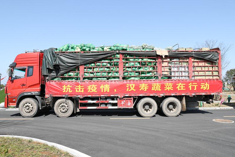 汉寿60吨蔬菜驰援湖北,湖南已向湖北支援各类蔬菜673吨