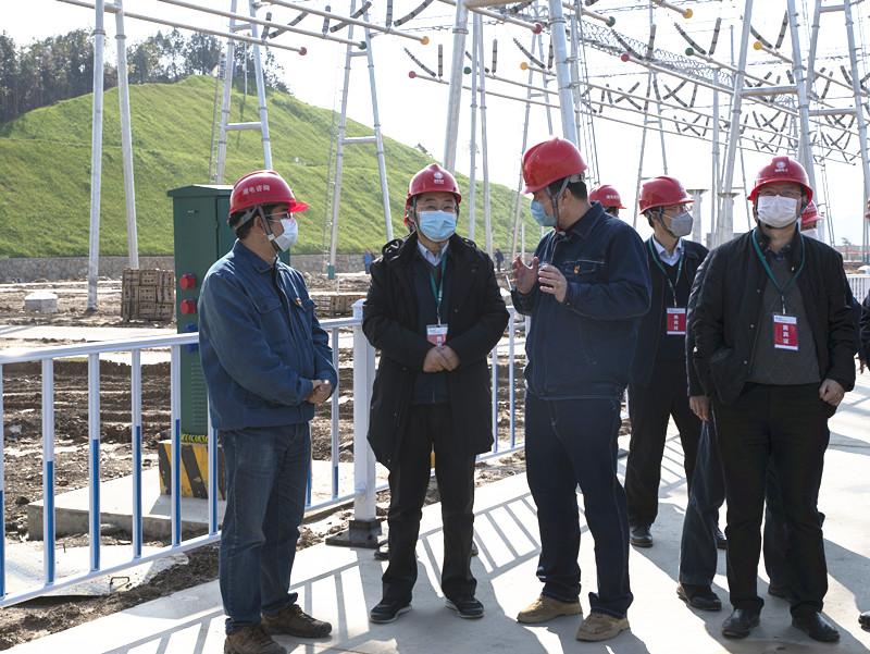 湖南主电网建设项目全面有序复工