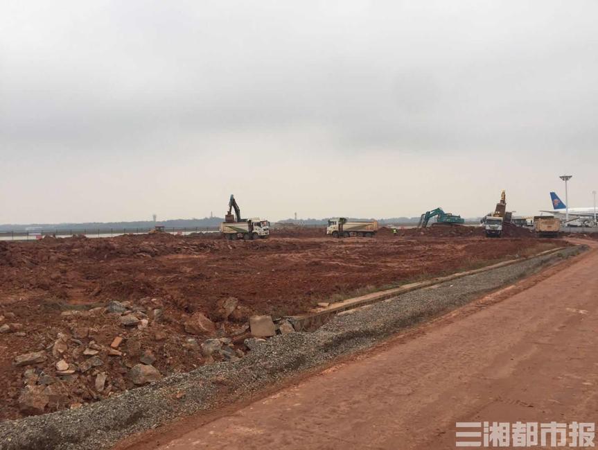 长沙机场站坪扩建工程加快推进