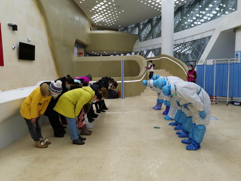 14名患者治愈出院!湖南中医方舱医院显神威 新湖南www.hunanabc.com