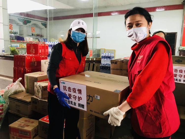 跨越湘鄂的同心接力——欧比佳乳业抗疫捐赠物资转运纪实
