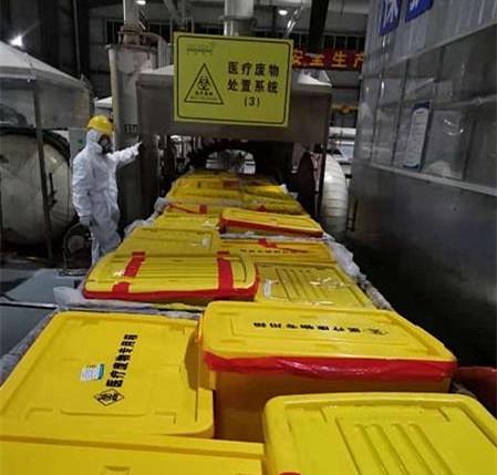 我省紧急安排500万元支持疫情防控医疗废物收集处置