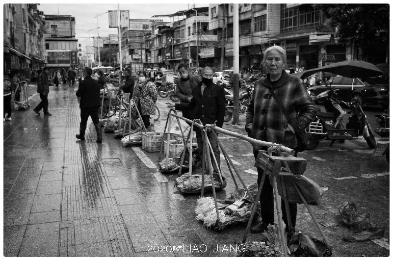 农贸市场众生相 新湖南www.hunanabc.com
