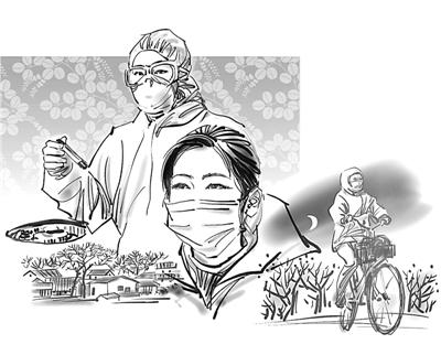 """湖南作家《光明日报》刊文讲述""""女医生骑行300公里回武汉上班""""的感人故事"""