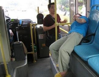 老太骂晕公交司机 坏人变老了吗