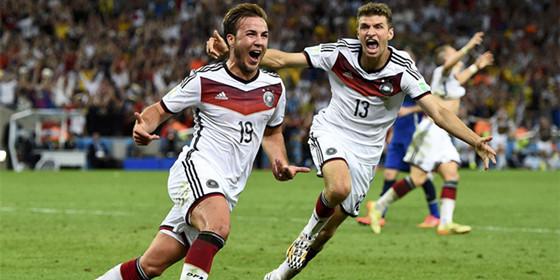 高清组图回顾德国夺冠