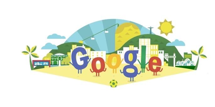 谷歌世界杯涂鸦板萌翻人