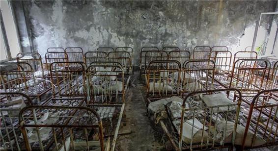 切尔诺贝利禁区缩影:废弃城市犹如鬼城