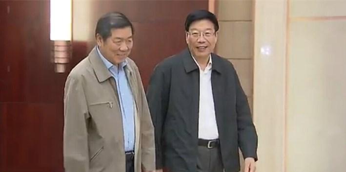 徐守盛会见国家发改委党组副书记何立峰