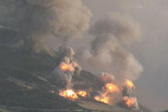 俄军对IS发起最大火力空袭:一日袭击94处目标