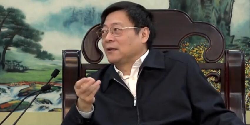 杜家毫会见奥凯航空总裁刘宗辉
