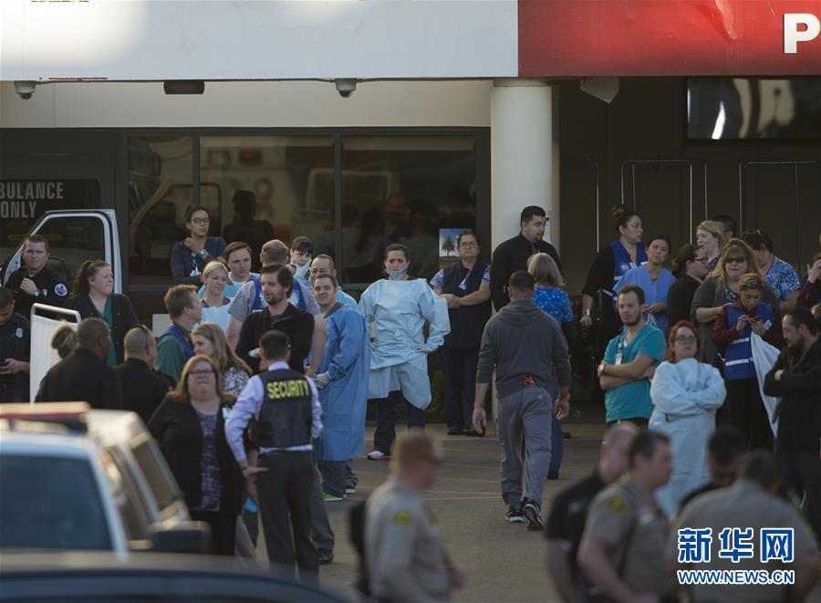 美国加州发生枪击事件 造成至少14人死亡