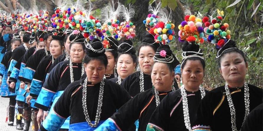 """贵州榕江侗族同胞欢庆""""萨玛节"""""""