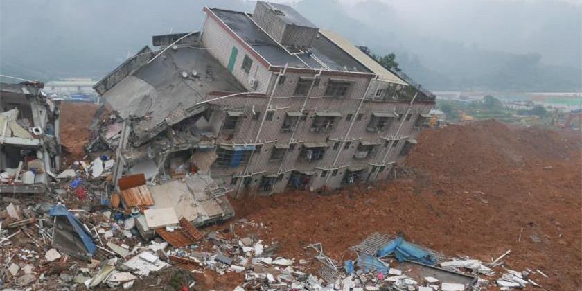 深圳光明新区山体滑坡 失联人数上升至91人