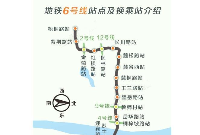 [一周湖南]地铁6号线年内动工 湖南5城市上百强榜