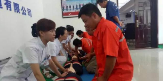 常德开展现场救护知识培训 第一目击者行动走进工地