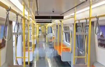 中国制造地铁将出口美国 走进车厢近距离感受设计细节