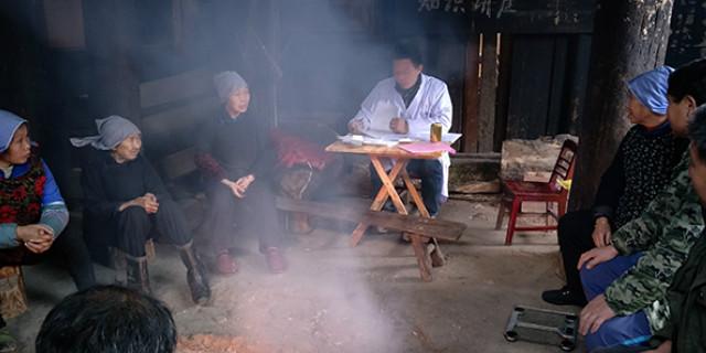 怀化:播阳镇卫生院开展预防冬春季流感知识宣传