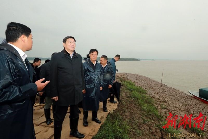 湖南省委书记两赴下塞湖,有何深意? 新湖南www.hunanabc.com