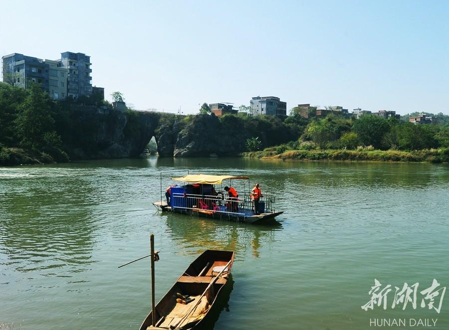 河长巡查 河道洁美 新湖南www.hunanabc.com
