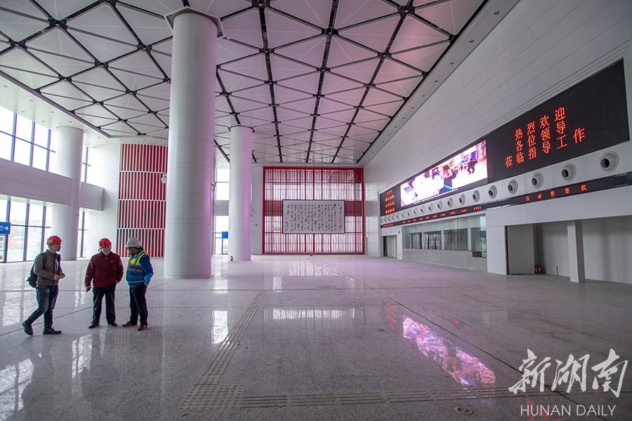 长沙汽车南站年底试运营 新湖南www.hunanabc.com