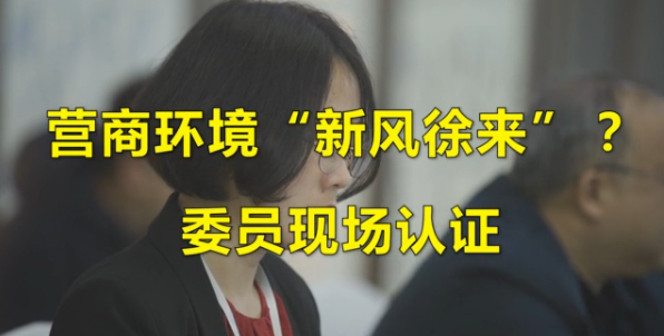 """【小苏带你看两会】营商环境""""新风徐来""""?委员现场认证"""