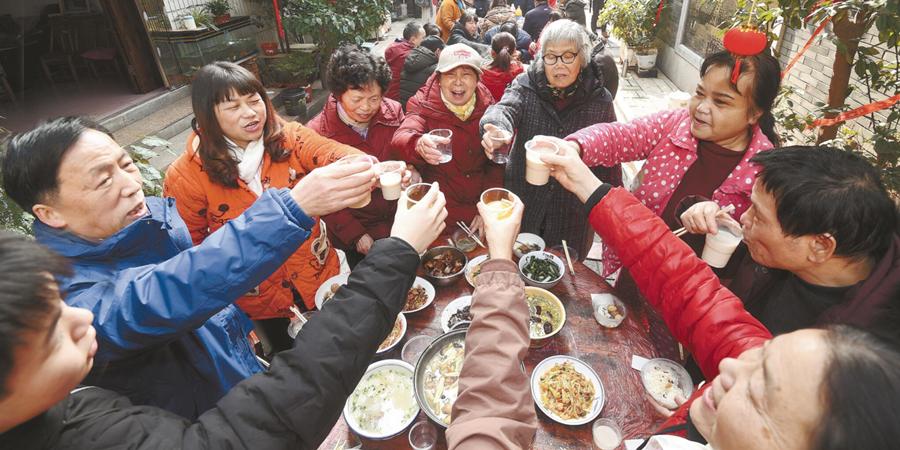 【迎新春 过大年】街坊团圆共迎新年