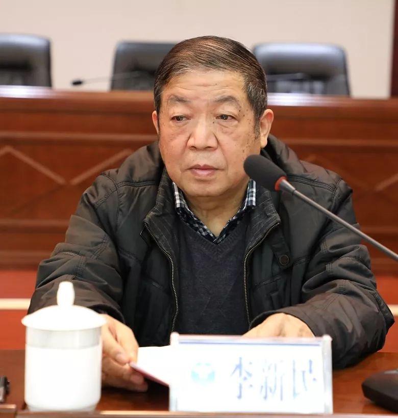 长沙市社会禁毒协会副会长李新民主持会议