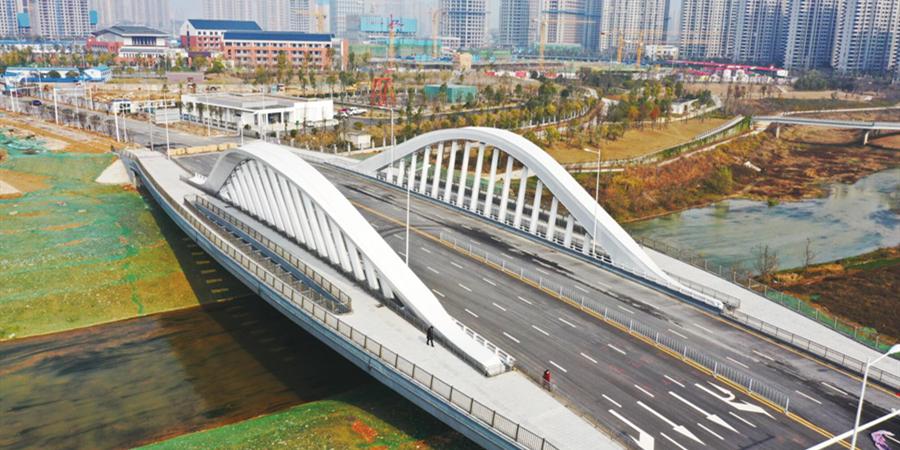龙王港上添新桥