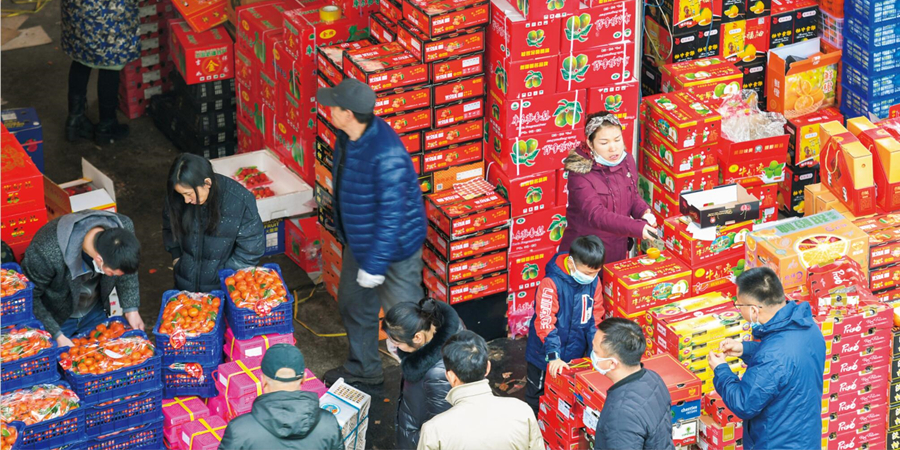 长沙:物资丰富供应足
