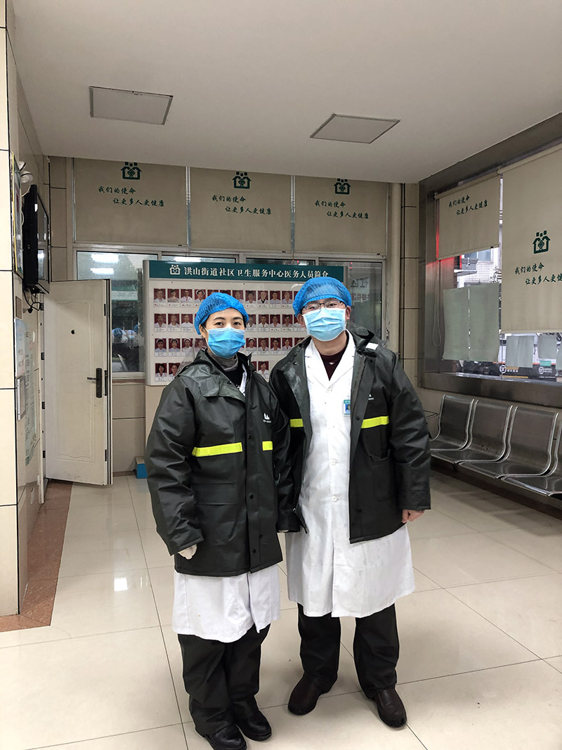 湖南省体育运动医疗专科医院积极参与肺炎疫情防控志愿工作