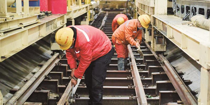 长沙地铁6号线建设复工