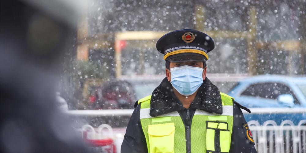 """雪中战""""疫"""",他们这样感动中国!"""
