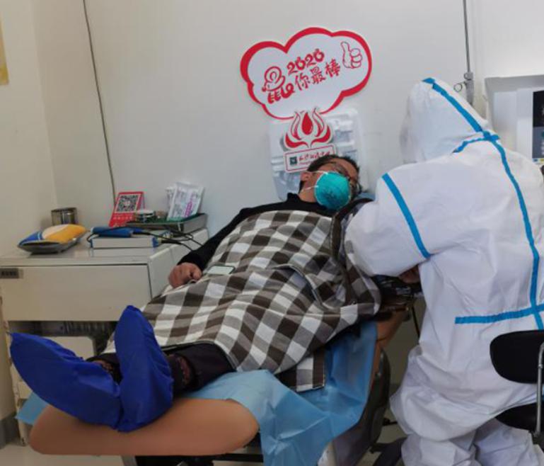 新冠肺炎康复患者长沙捐献血浆 呼吁更多康复者踊跃站出来