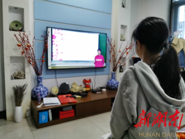 """蓝山:免费电视服务支撑6万学子线上""""开学"""" 新湖南www.hunanabc.com"""