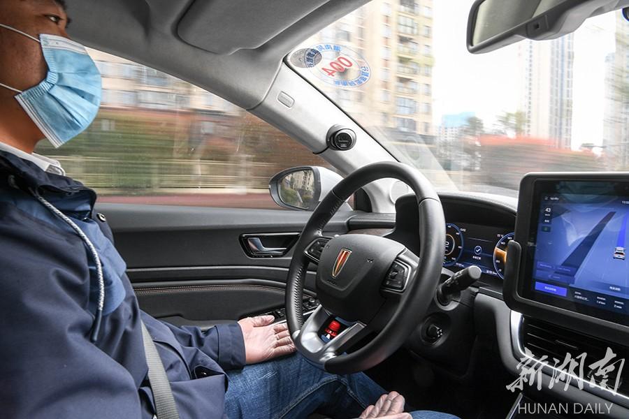 长沙无人驾驶出租车恢复试乘 新湖南www.hunanabc.com